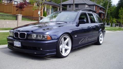 2001 BMW 525i T Sport Wagon - CG Motorsports